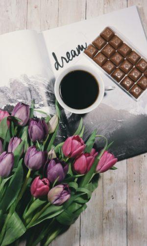 Chokolade & blomster